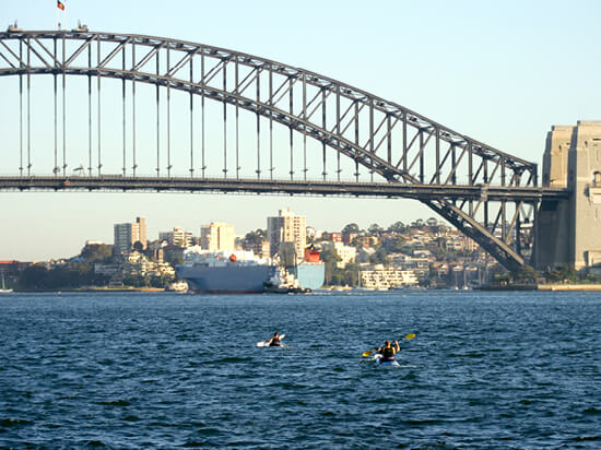 Explore Sydney by kayak