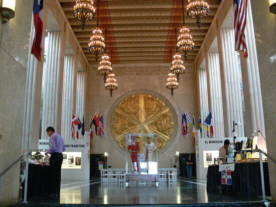 Unusual event venues - Fair Park Hall of State