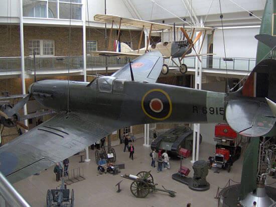 Unusual event venues - Imperial War Museum